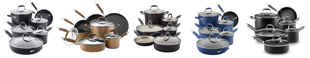 anolon advanced cookware set review with colors