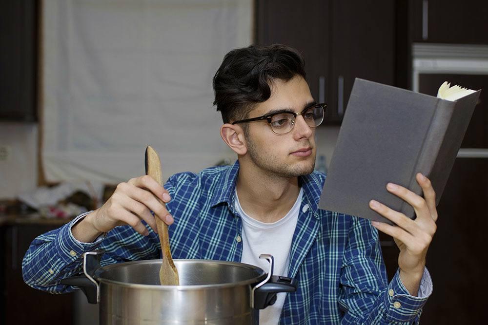 Student cooks