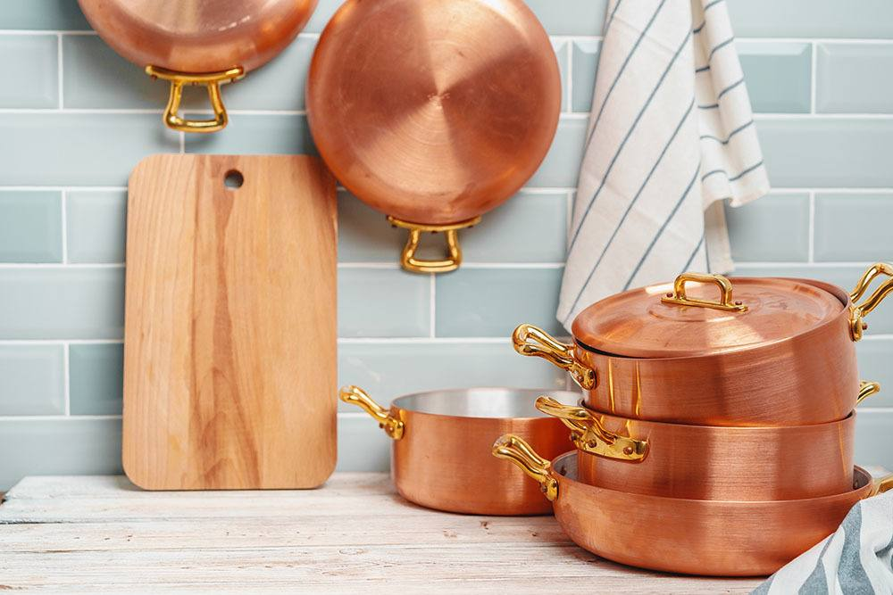 how to clean copper cookware
