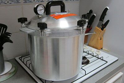 all american pressure canner, preserves