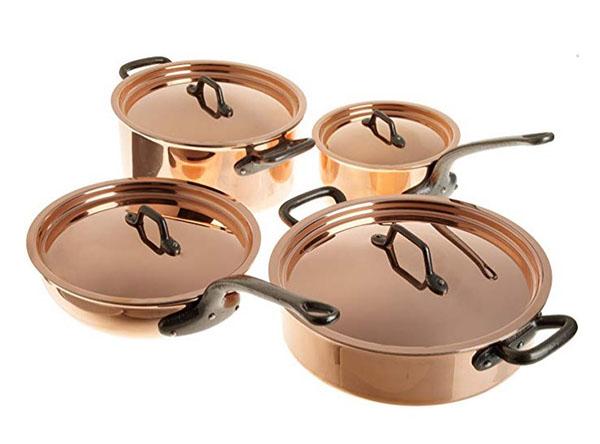 Matfer Bourgeat Matfer Copper Cookware Set